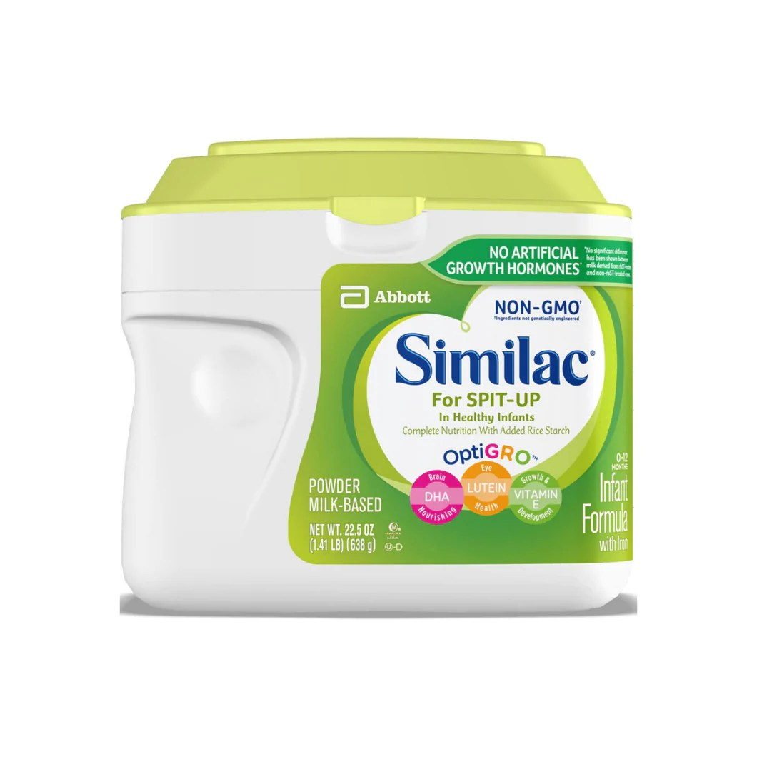 Similac for Spit Up Infant Formula with Iron With Rice ...
