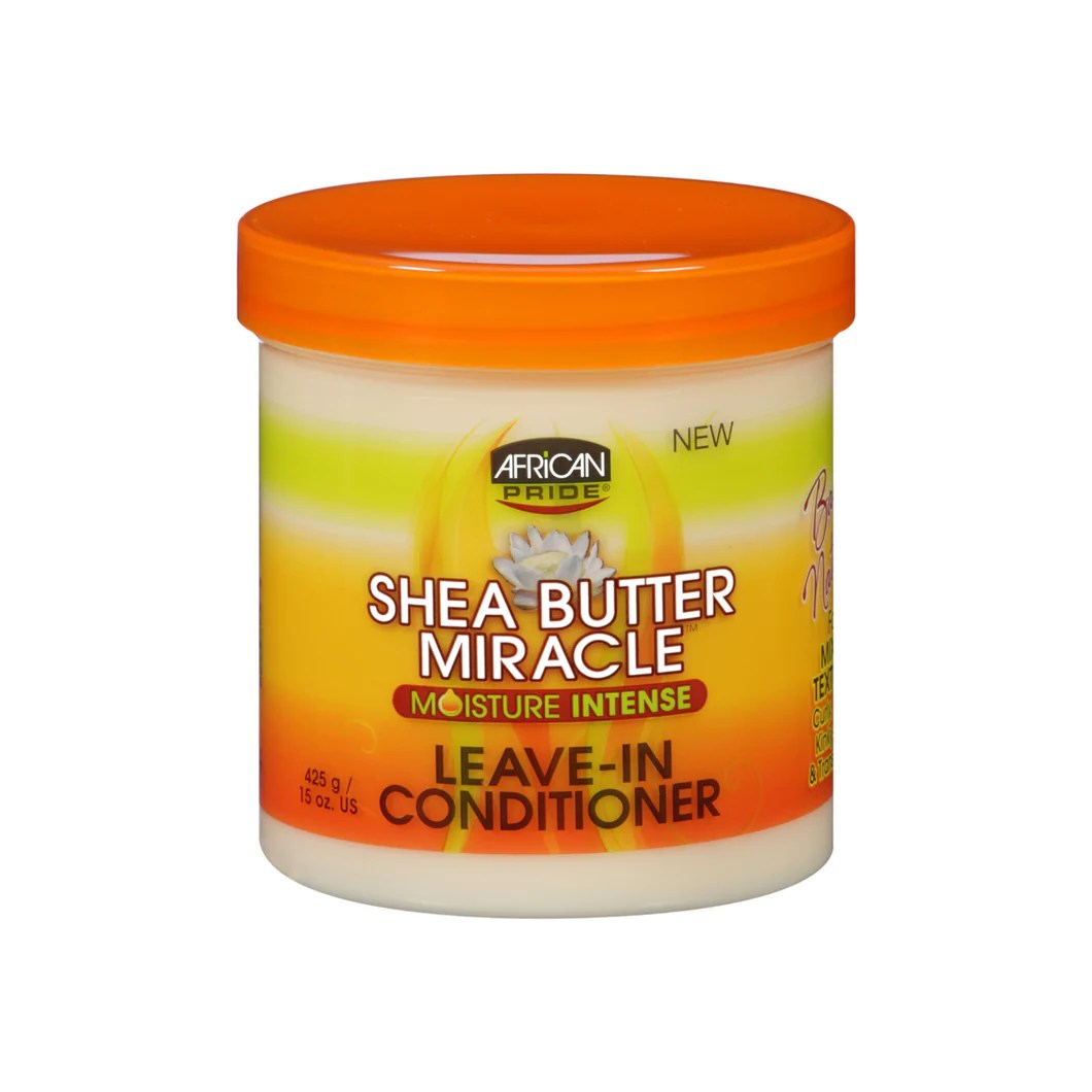 African Pride Shea Butter Miracle Moisture Intense Leave ...