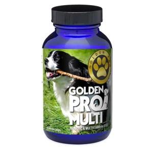 Golden Pro Multi-Probiotic and Multivitamin for Dogs