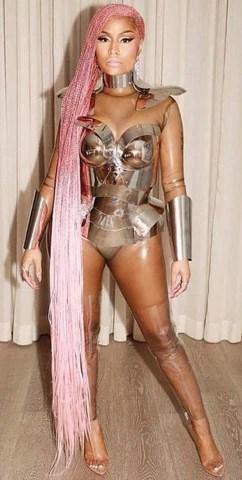 Nicki Minaj in Custom Vex for Motorsport Music Video  Vex