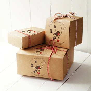 Personalised Christmas Gift Boxes Seahorse