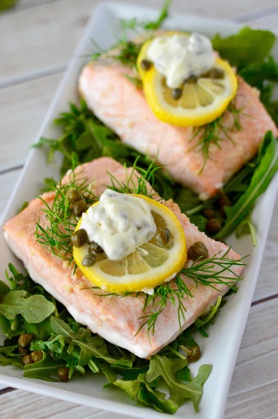 Lemon Dill Baked Salmon  Salmon Recipes  Sizzlefish