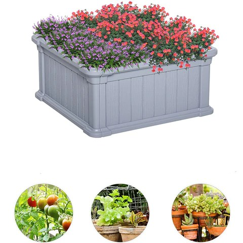 Plastic Cultivation Bed Flower