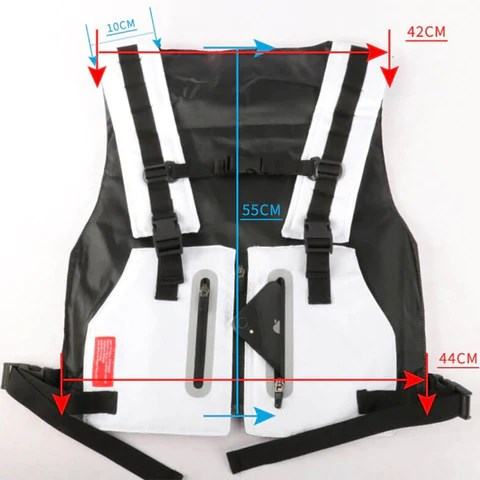 Multifunctional Tactical Reflective Cycling Vest