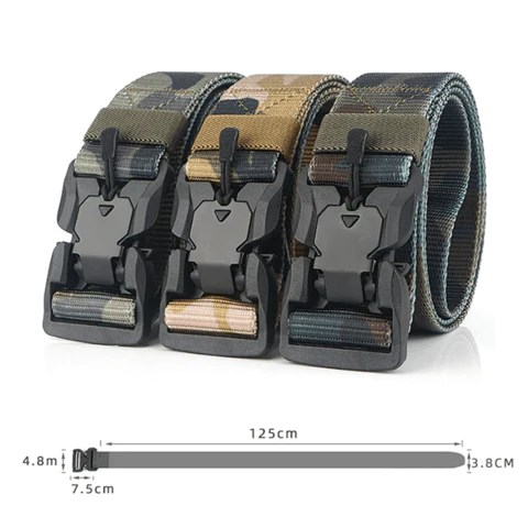 Mens Tactical Riggers Wilderness Utility Belt