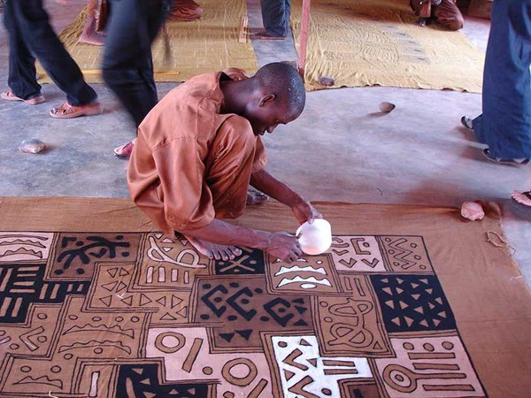 African Mud Cloth  Bogolan Fabric  African Decor