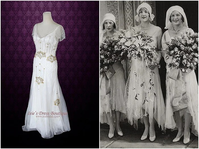 Vintage Wedding Dresses: Inspiration Throughout The