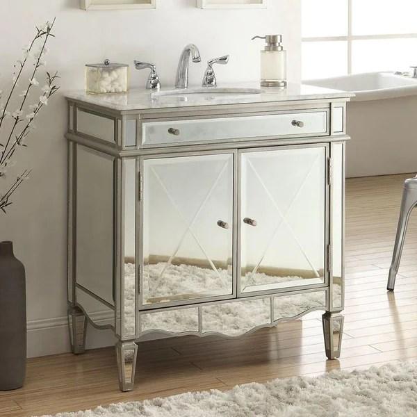 mirrored vanities chans furniture