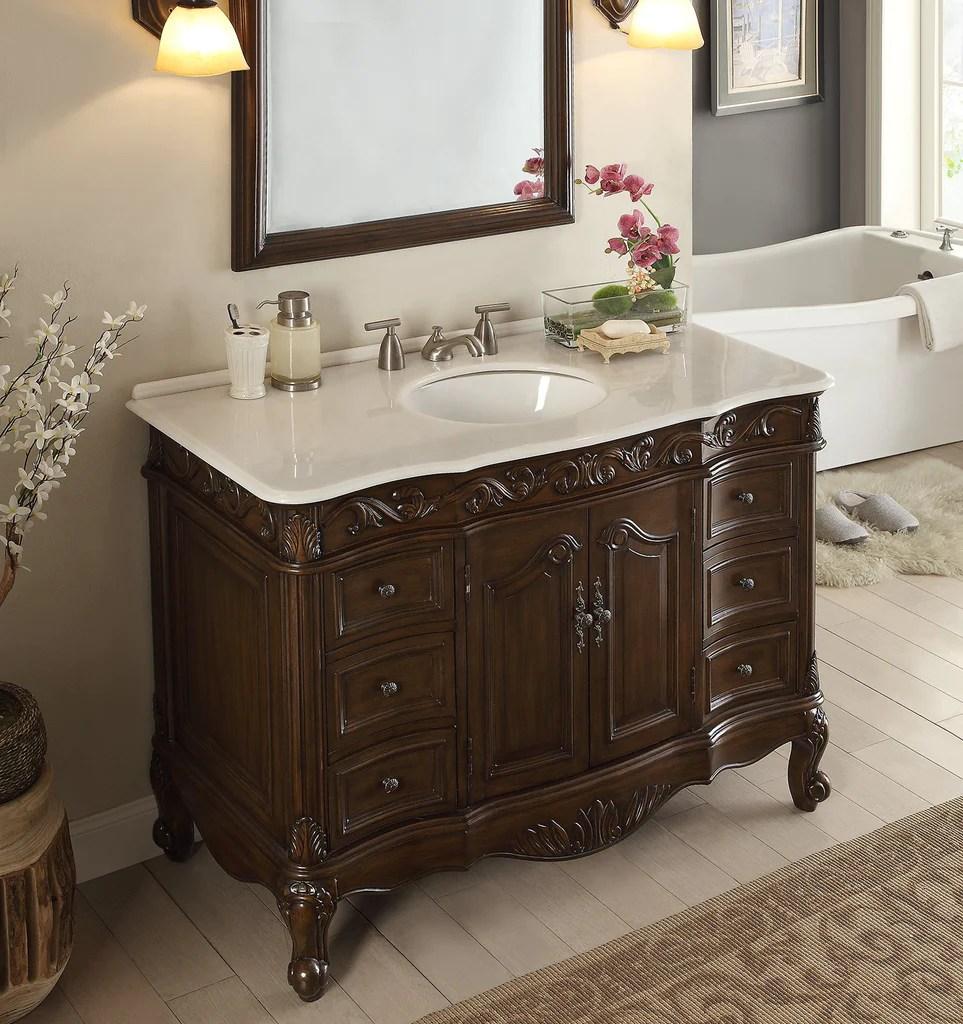 48 Benton Collection Classic Style Beckham Bathroom Sink