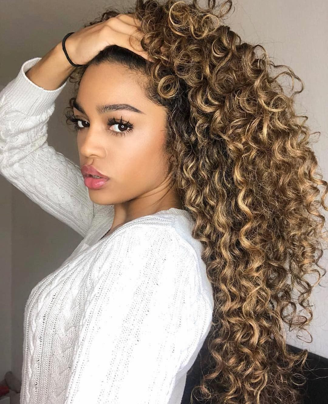 Lace Frontal Wigs Short Curly Hairstyles For Girls Half Up Half