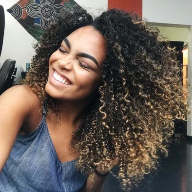 Lace Frontal Wigs Natural Curly Hair Hairstyles Black Girl Curly