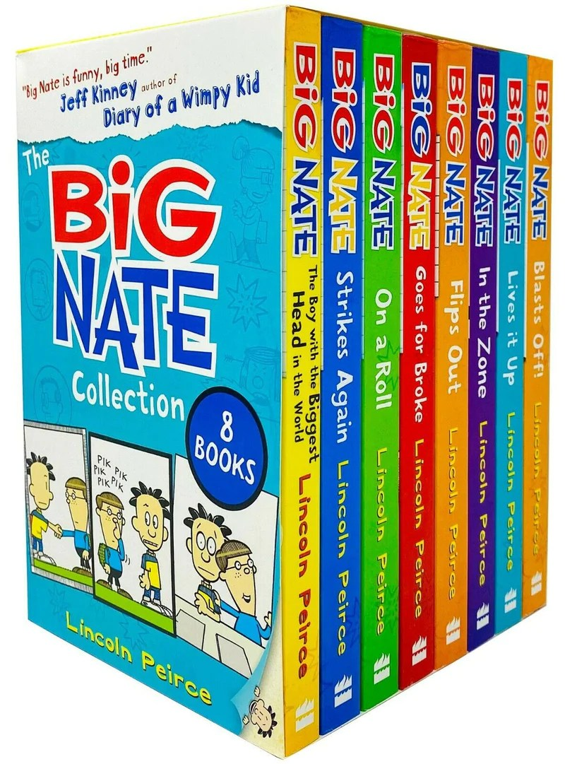 Big Nate Series : series, Series, Collection, Books, Lincoln, Peirce, Lowplex