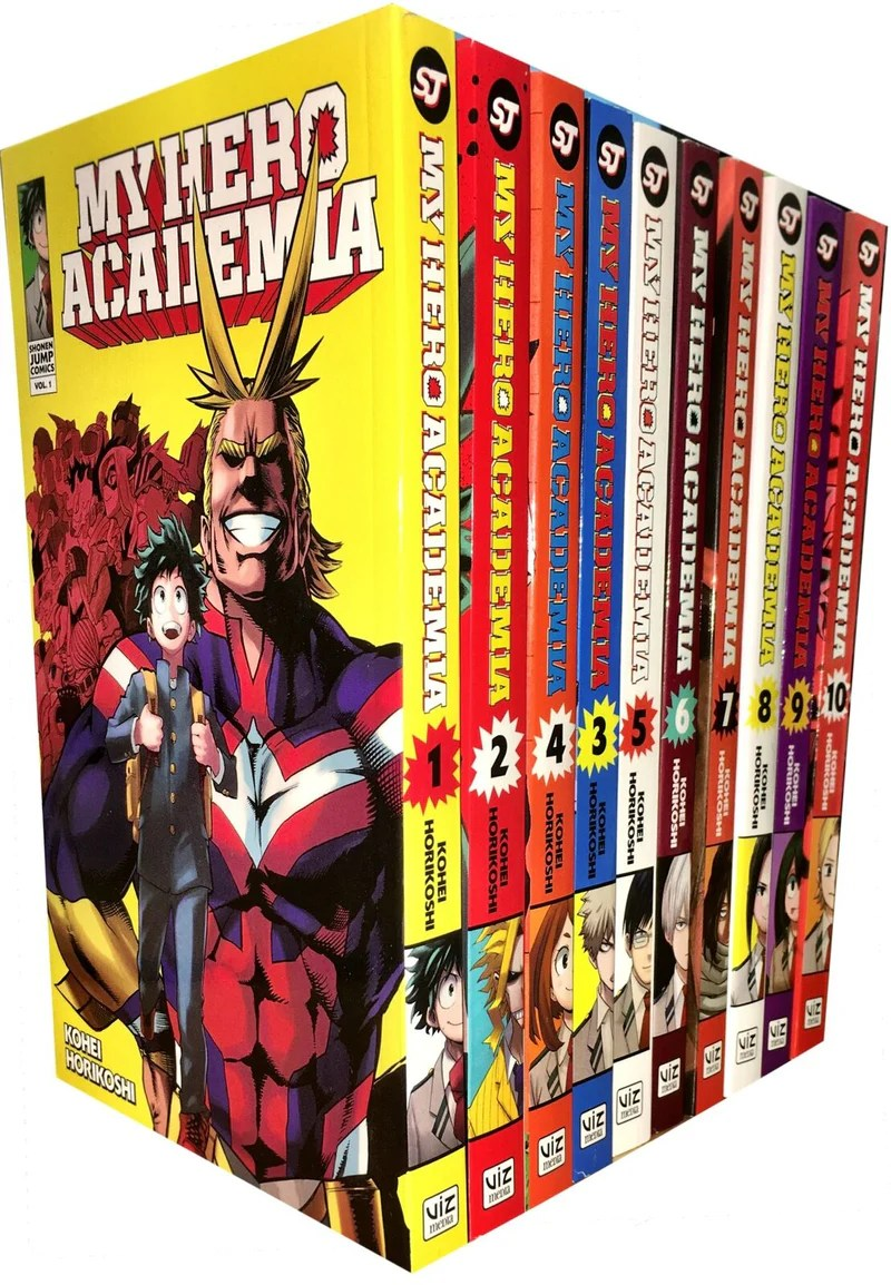 My Hero Academia Vol. 1 : academia, Academia, Series(Vol, 1-10), Collection, Books, Kohei, Lowplex