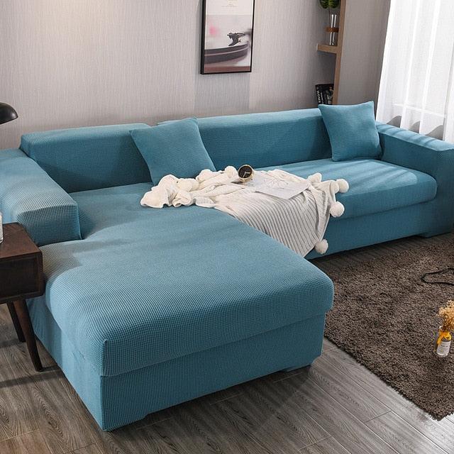 magic sofa stretchable cover l shape texture slipcovernation
