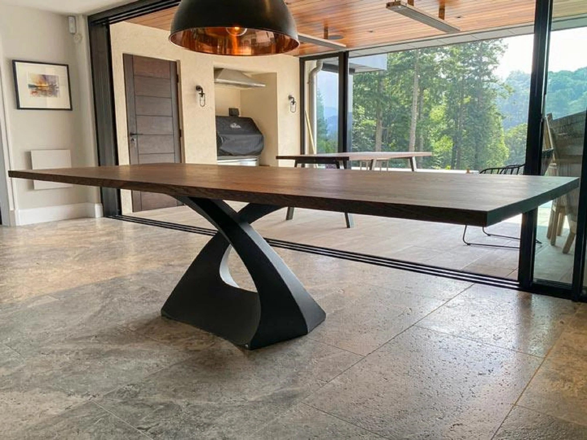 flowyline design metal table legs and