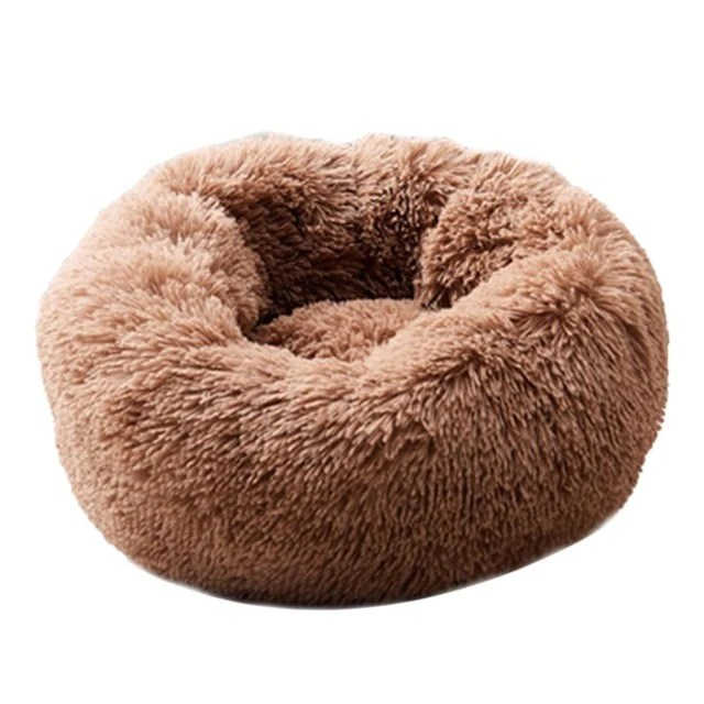 Pet Dog Cat Calming Soothing Bed With Anti Anxiety