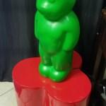 Lumibar Design Lumibear 2 Foot Gummy Bear Lamp Nightlight Bobs Beach Chic Treasures