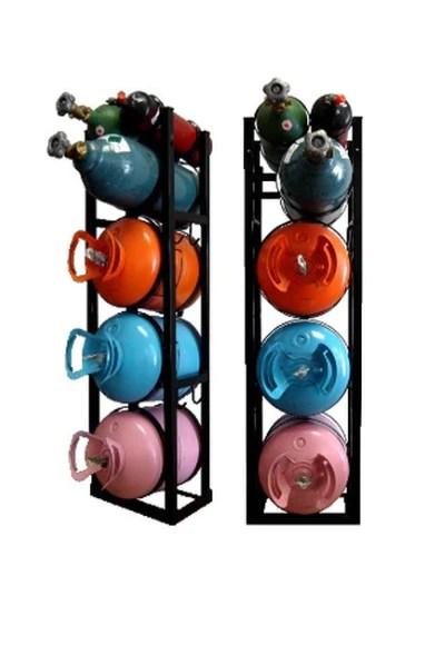 3 30lb nitrogen oxygen acetylene refrigerant rack