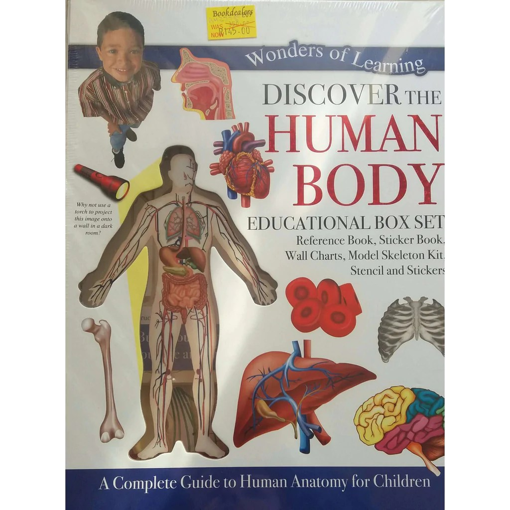 Bookdealers discover the human body educational box set also publisher north parade publishing isbn rh