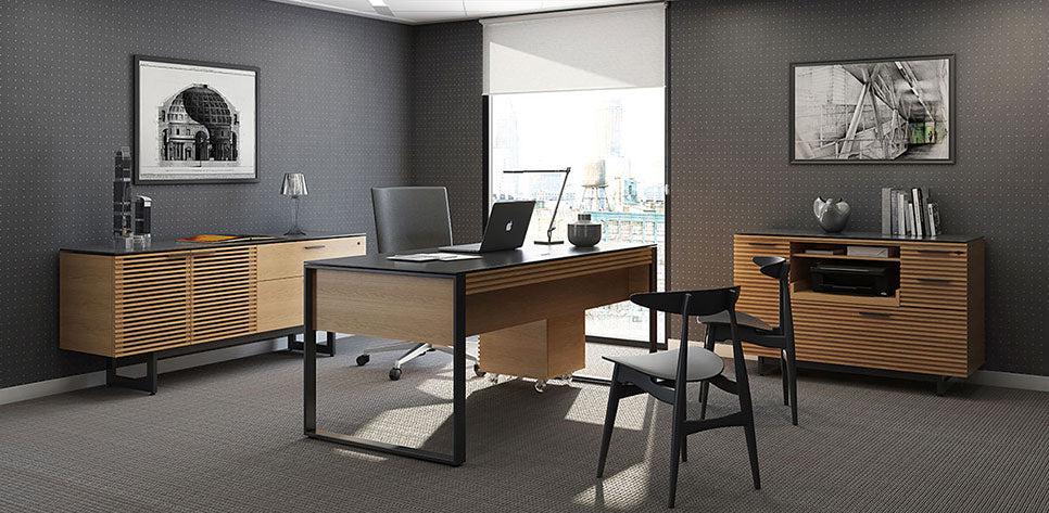 Corridor Office Furniture Set BDI Office Furniture
