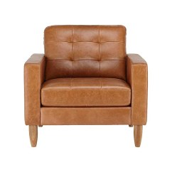 Kasala Sydney Sofa Tapestry Fabric Leather Chair Enlarge Image Sale Outlet