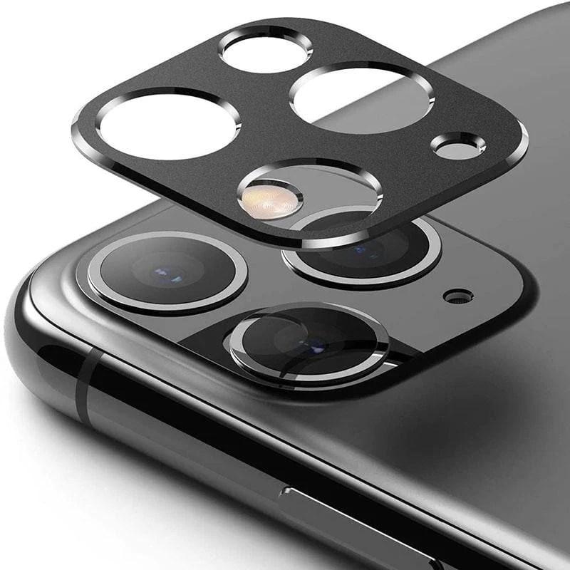 Apple iPhone 11 Pro/Pro Max 保護鏡頭金屬框-黑   citiesocial   找好東西