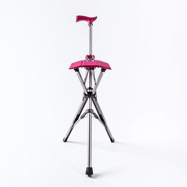 泰達椅-自動手杖椅/拐杖椅 玫瑰紅   citiesocial   找好東西