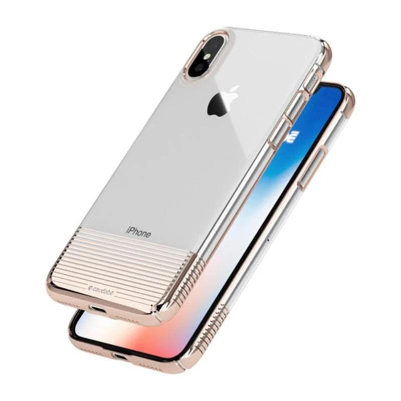 LUCID CLEAR iPhoneX 極緻透薄手機殼 -金色   citiesocial   找好東西