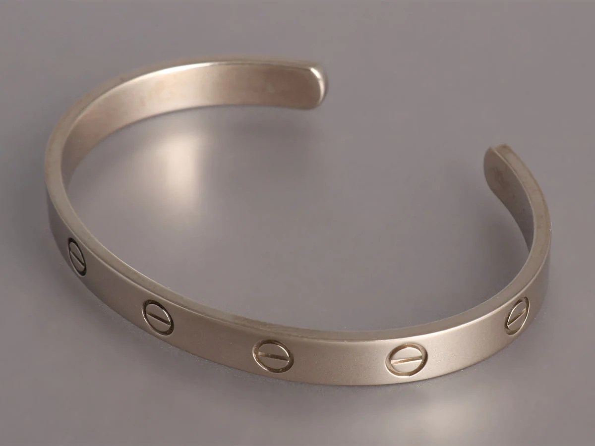 6b336dd49 Cartier Love Bracelet White Gold - Ivoiregion