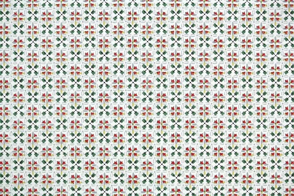 1940s Geometric Vintage Wallpaper  Hannahs Treasures