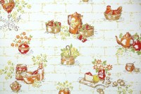 1960s Kitchen Vintage Wallpaper  Hannah's Treasures ...