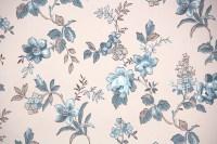1950s Floral Vintage Wallpaper  Hannah's Treasures ...