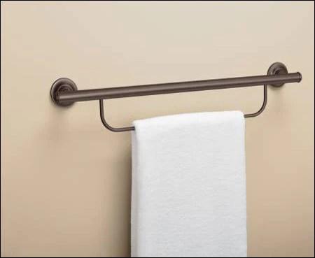 moen grab bar with towel bar