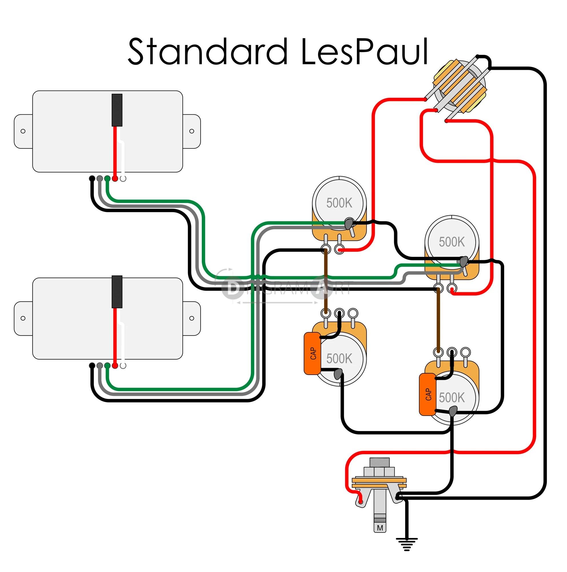 electric guitar wiring standard lespaul electric circuit diagramart vintage les paul wiring diagram electric [ 1984 x 2000 Pixel ]