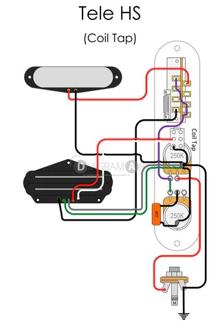 Sg Wiring Diagram Push Electric Guitar Wiring Tele Hs Coil Tap Electric