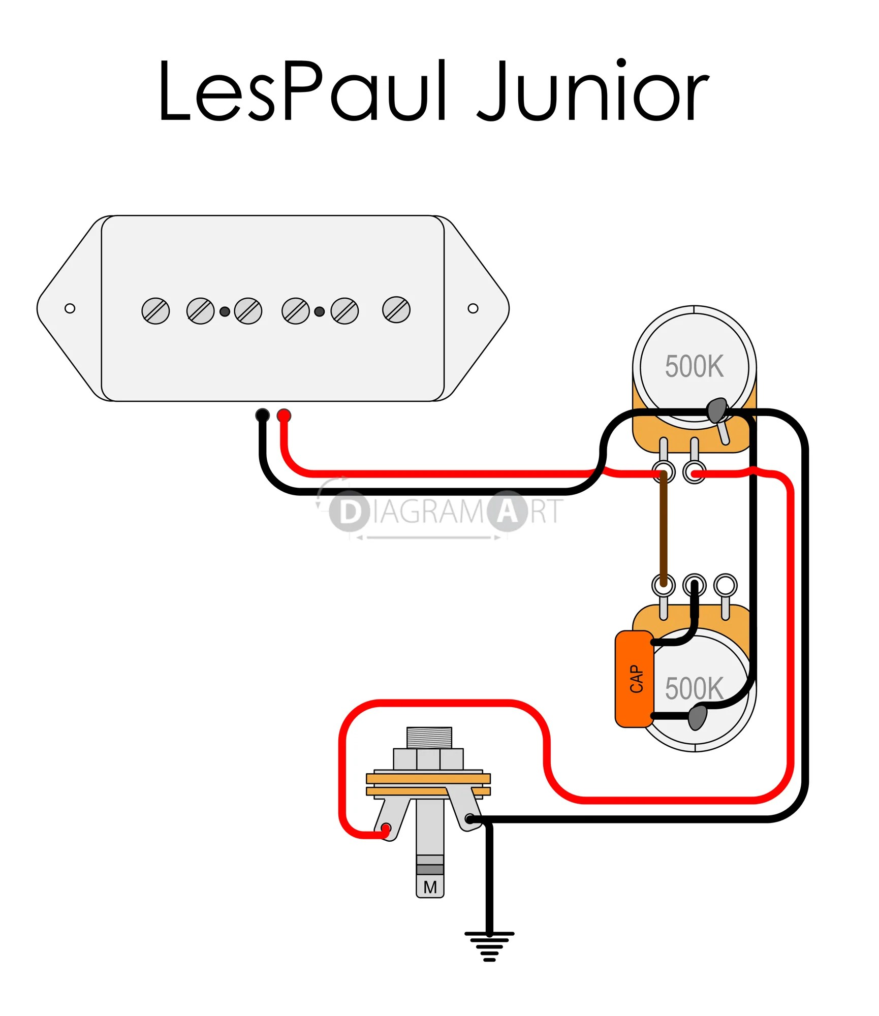 small resolution of the guitar wiring blog diagrams and tips gibson les wiring diagram les paul jr p90 wiring diagram