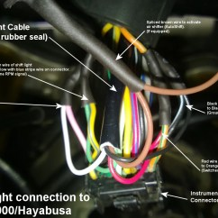 07 Hayabusa Wiring Diagram White Rodgers Type 91 Relay Shift Light Install And Gsxr1000  Raptor Performance