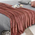 Sofa Sesseluberwurfe Teddy Bear Fleece Throw Over Bed Large Bedspread Soft Cuddly Warm Sofa Blanket Mobel Wohnen