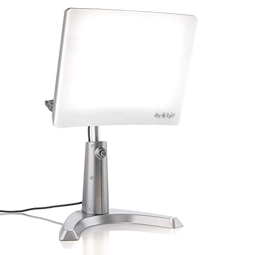 carex day light classic plus bright light therapy lamp 10 000 lux at