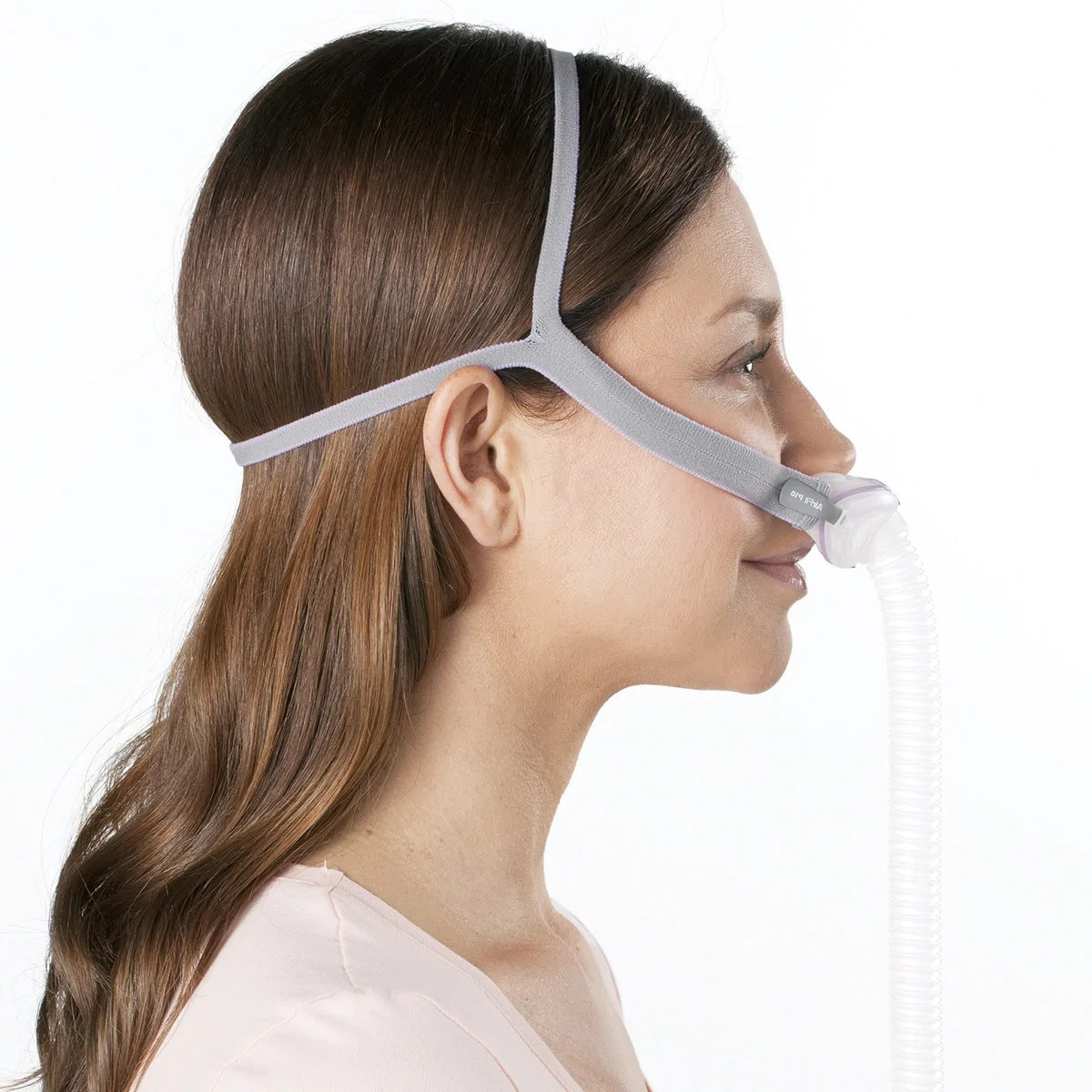 resmed airfit p10 for her nasal pillows cpap mask with headgear