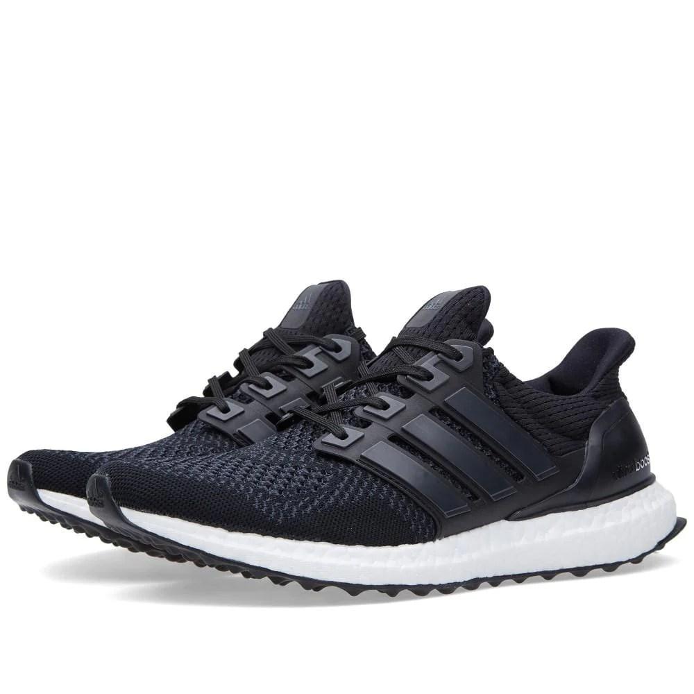 Adidas Ultra Boost M Core Black White Kick Game