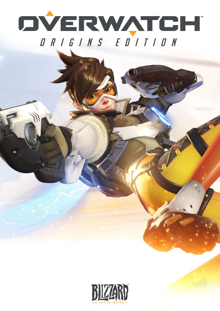 Tracer Overwatch Maxi Poster 61cm x 91.5cm new and sealed