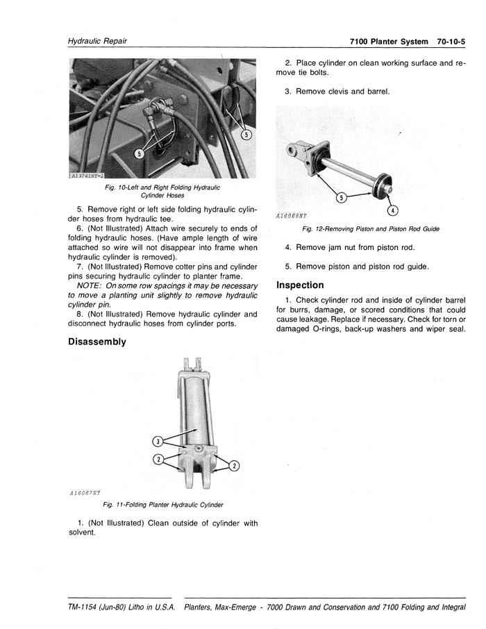 John Deere 7000 Planter Parts Diagram : deere, planter, parts, diagram, Deere, Planter, Technical, Manual, Manuals