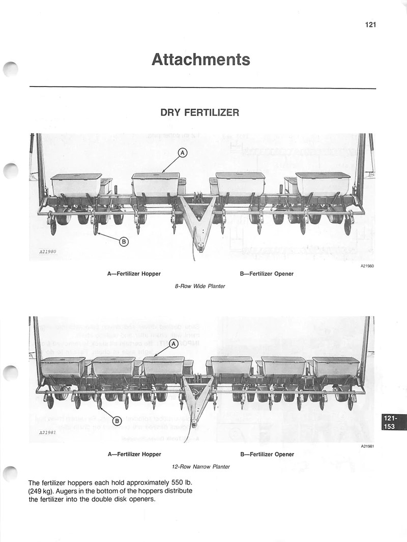 John Deere 7000 Planter Parts Diagram : deere, planter, parts, diagram, Deere, Drawn, Planters, Manual, Manuals