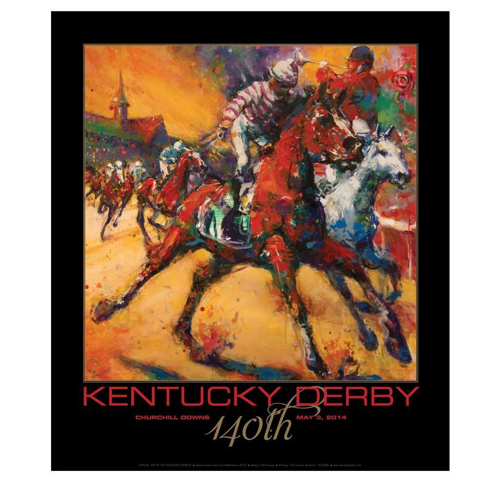 2014 kentucky derby poster