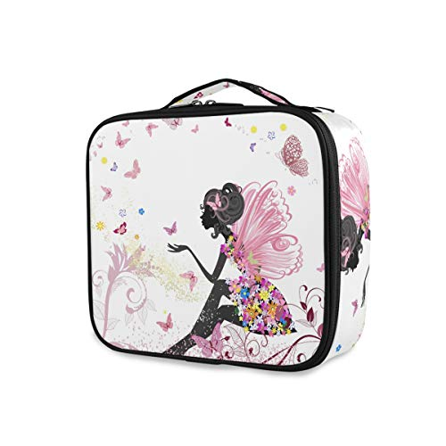 Toiletry Bag Flower Fairy Girl Pink