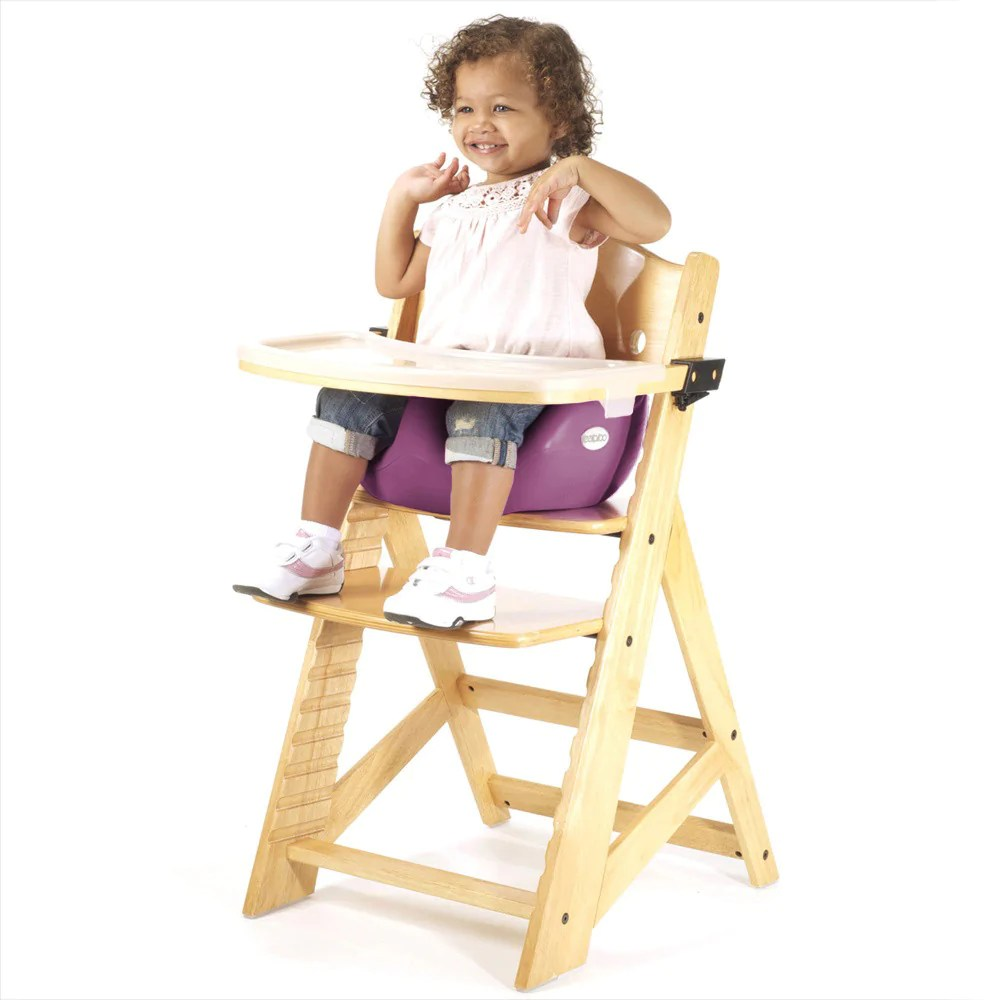 keekaroo high chair small white for bathroom height right natural color with infant insert t baby strollers place