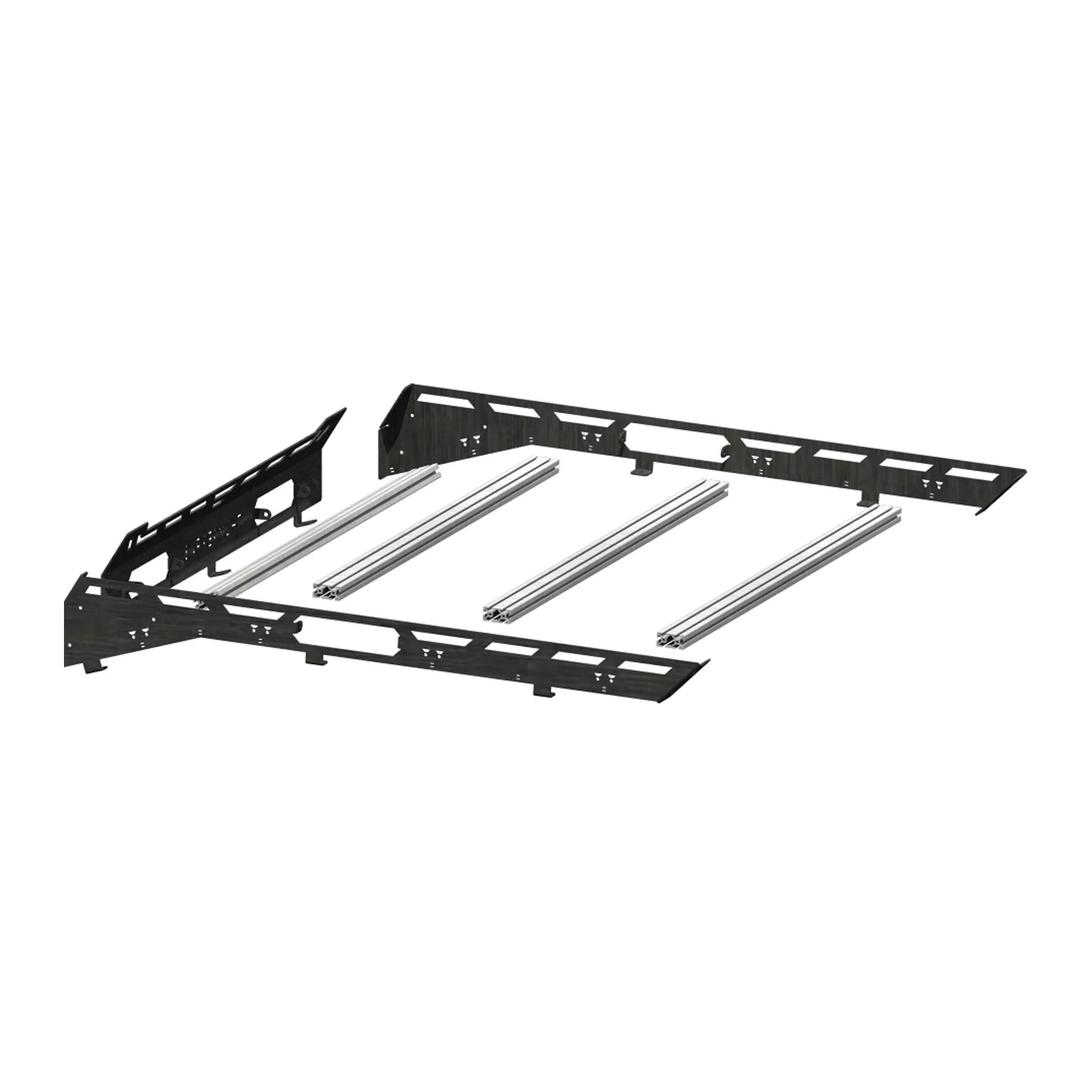 t slot rail kit for the polaris general l3 l4 audio roof