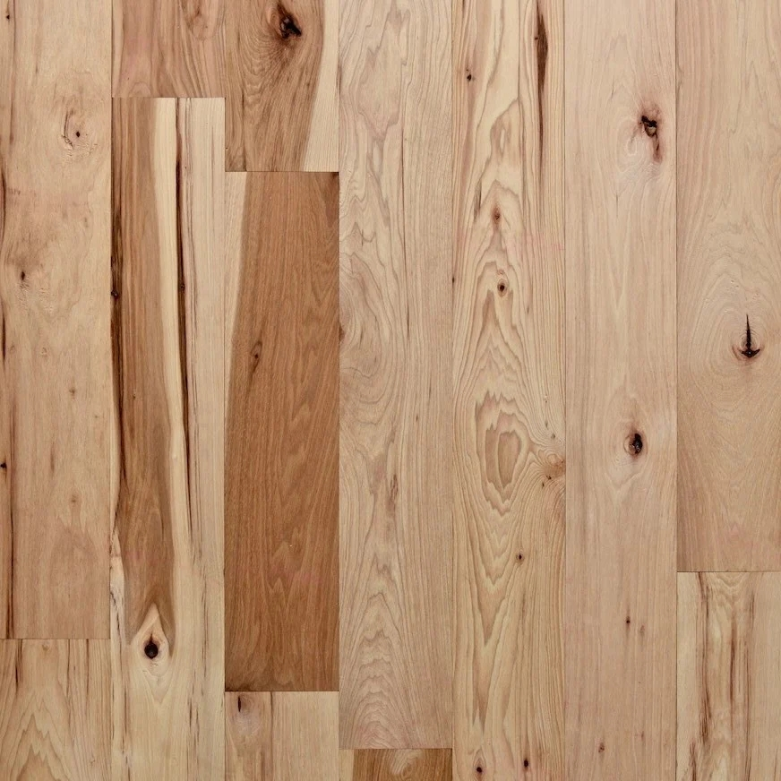 Solid Unfinished Domestic Hickory – Nature Wood Floors   Unfinished Hickory Stair Treads   Stair Nosing   Stairtek   Flooring   Stair Parts   Wood