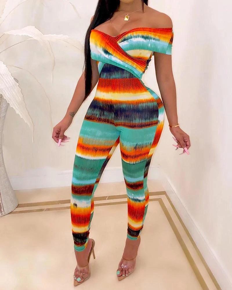 Seven Color Rainbow Jumpsuit 10